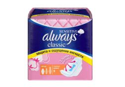 Прокладки Always Classic normal sensitive 9 шт, шт