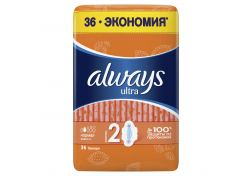 Прокладки Always Ultra normal 36 шт, шт