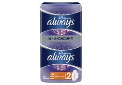 Прокладки Always Ultra Platinum Normal Plus 16 шт, шт