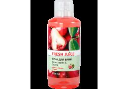 Пена для ванн Fresh Juice Rose apple & Guava 1 л, шт