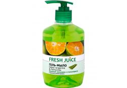 Жидкое мыло Fresh Juice Green Tangerine&Palmarosa Дозатор 460 мл, шт