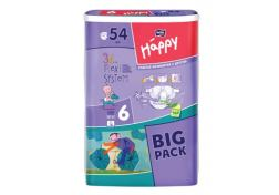 Подгузники Happy Junior Extra №6 16+ кг 54 шт, шт
