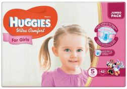 Подгузники Huggies Ultra Comfort Girl №5 12-22кг 42 шт, шт